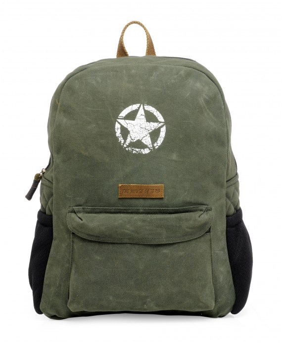 Rugged Unisex Laptop Backpack (Moss Green) HTBP 164