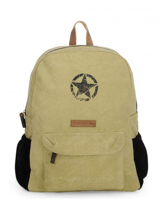 Rugged Unisex Laptop Backpack (Desert Storm)