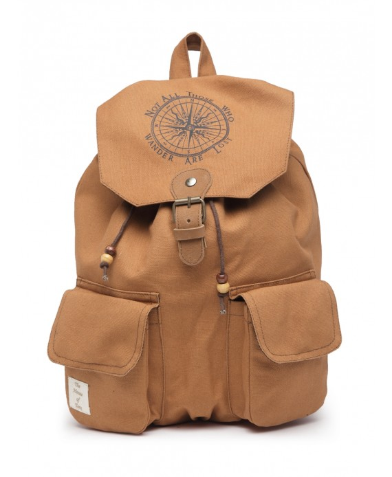 Cotton Canvas Backpack (HTBP 222)