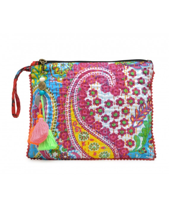 Kantha Work Clutch (HTCL 010)