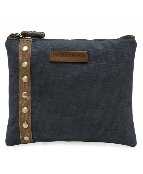 Unisex Clutch (Midnight Blue)