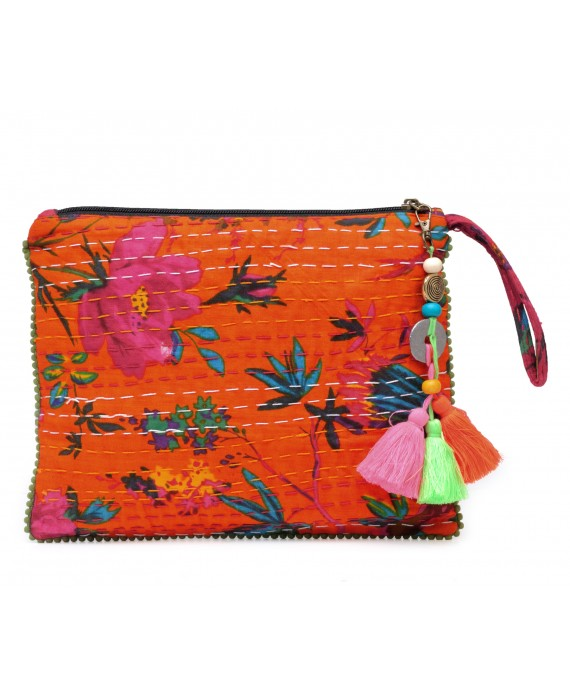 Kantha Work Clutch (HTCL 09)