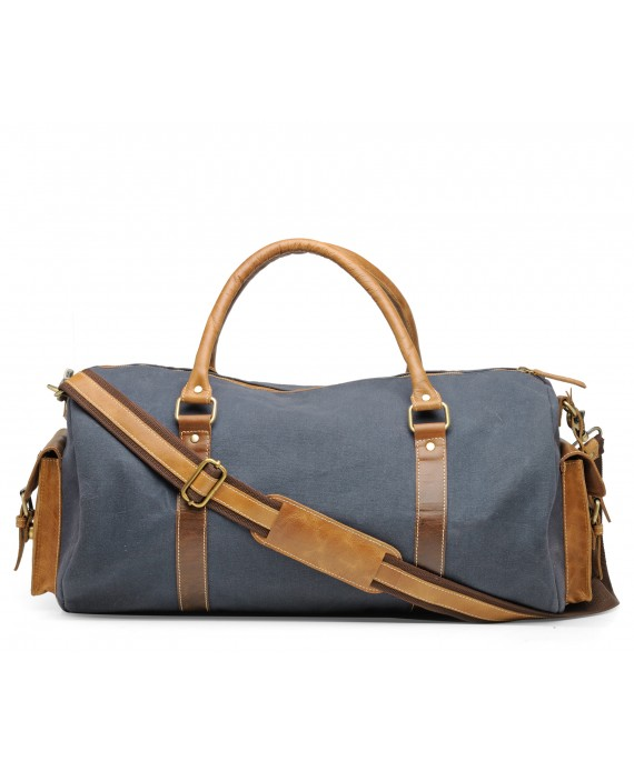 Duffle Gym Bag (Marine Blue)