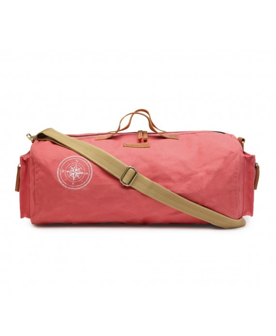 Canvas Duffle/Gym Bag (Coral Pink) HTD 139