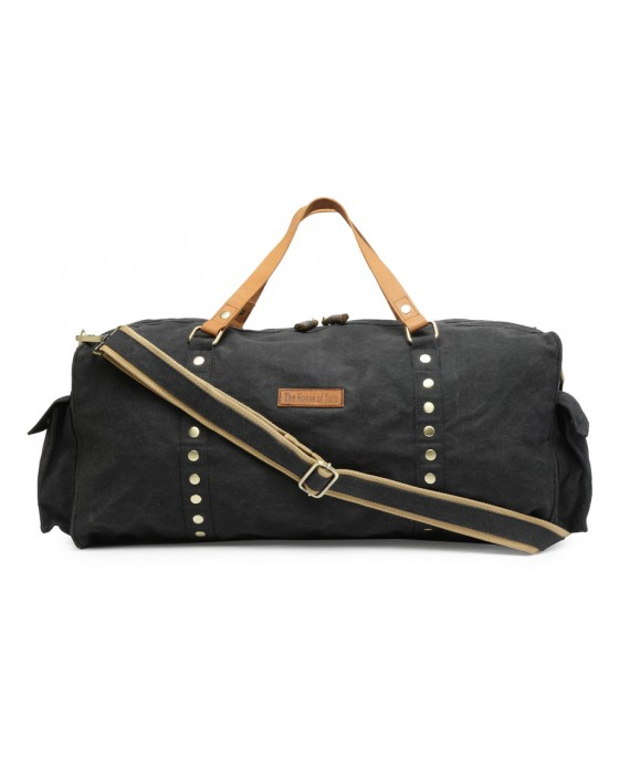 Special Canvas Large Duffle/Gym Bag (Raven Black) HTD 142