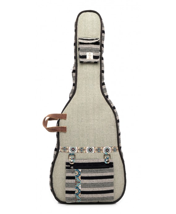 Handloom Fabric Guitar Case (HTGC 01)
