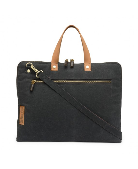 Slim Laptop Bag (Raven Black) HTLB 060