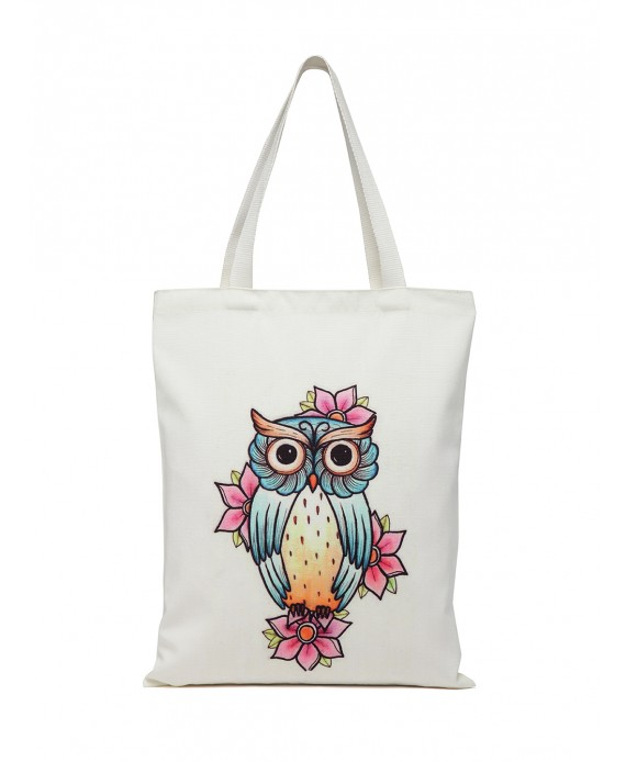 Digital Print Tote White (HTT 376)