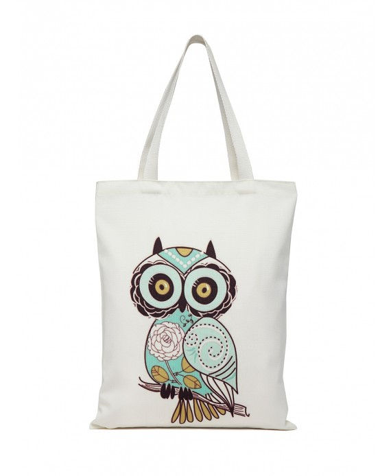 Digital Print Tote White (HTT 377)