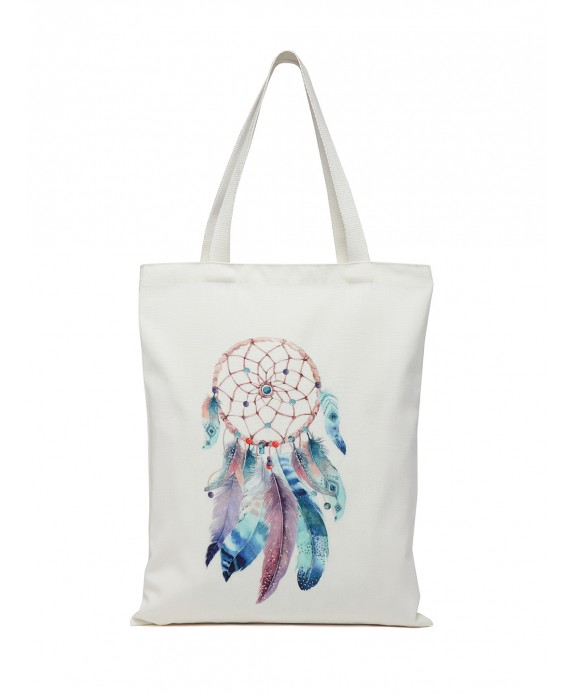 Digital Print Tote White (HTT 384)
