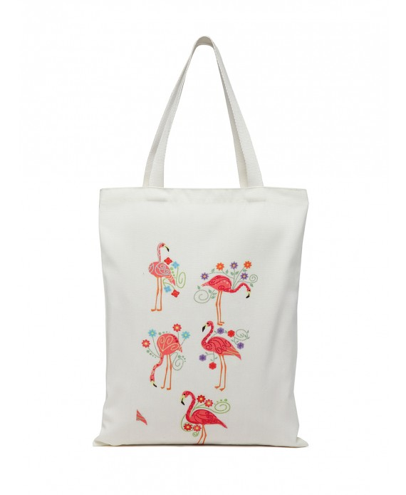 Digital Print Tote White (HTT 386)