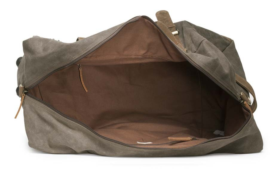 4c0d206795f4 ... Special Canvas Large Duffle (Taupe Grey) HTD 146. NextPrev