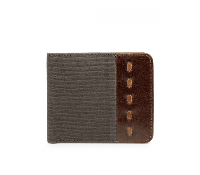 Canvas and Leather Wallet (HTGW 006)