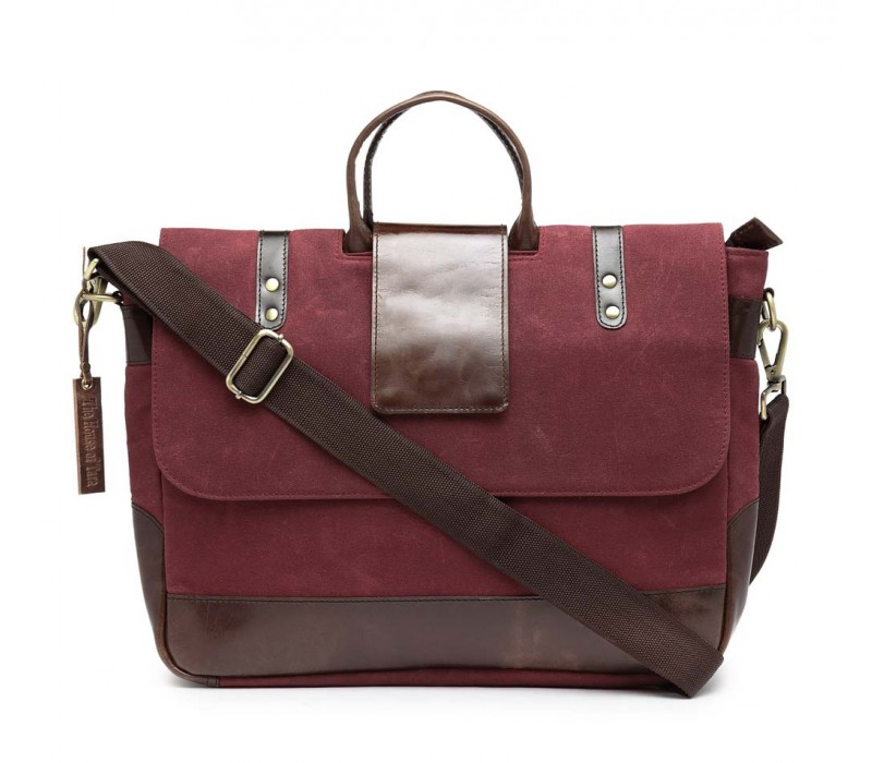 Leather Messenger/ Office Laptop Bag (HTMB 087)