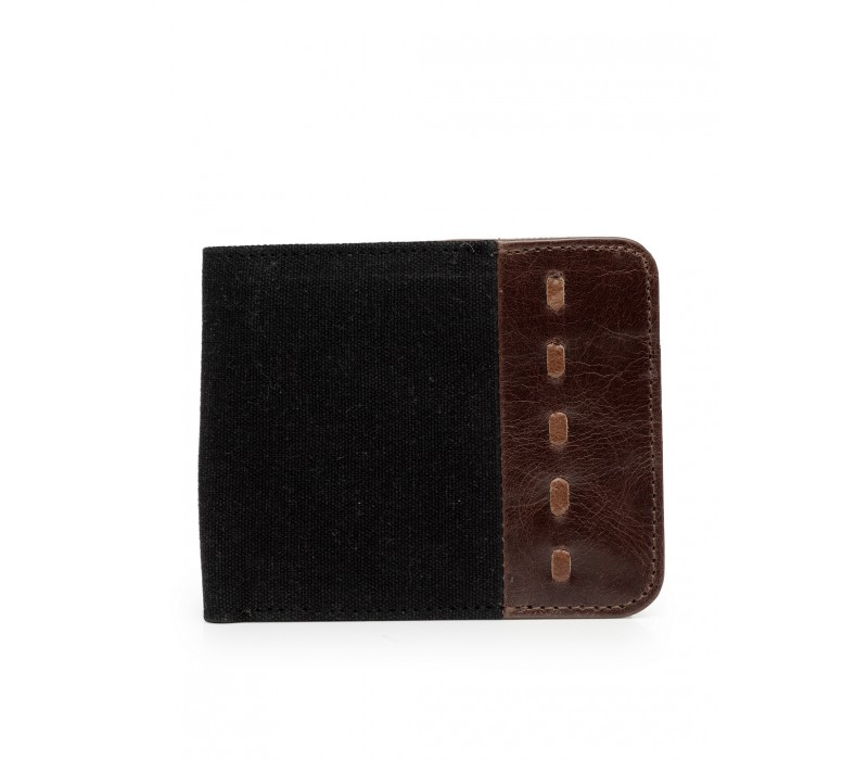 Canvas and Leather Wallet (HTGW 007)
