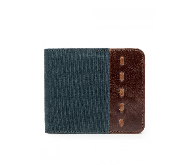 Canvas and Leather Wallet (HTGW 008)