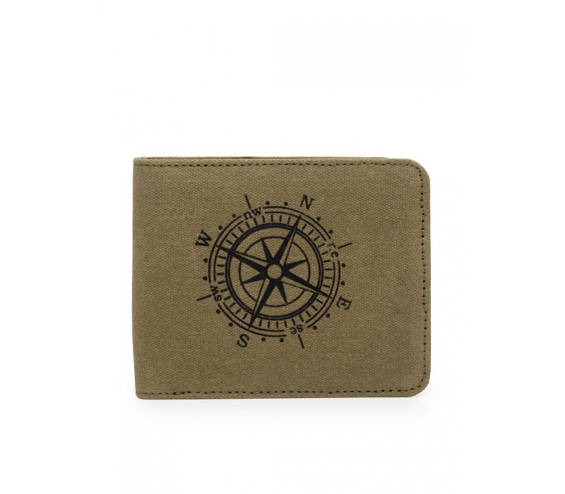 Canvas and Leather Wallet (HTGW 002)
