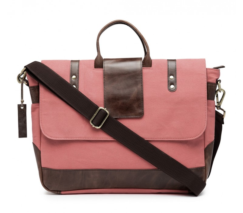 Leather Messenger/ Office Laptop Bag (HTMB 089)