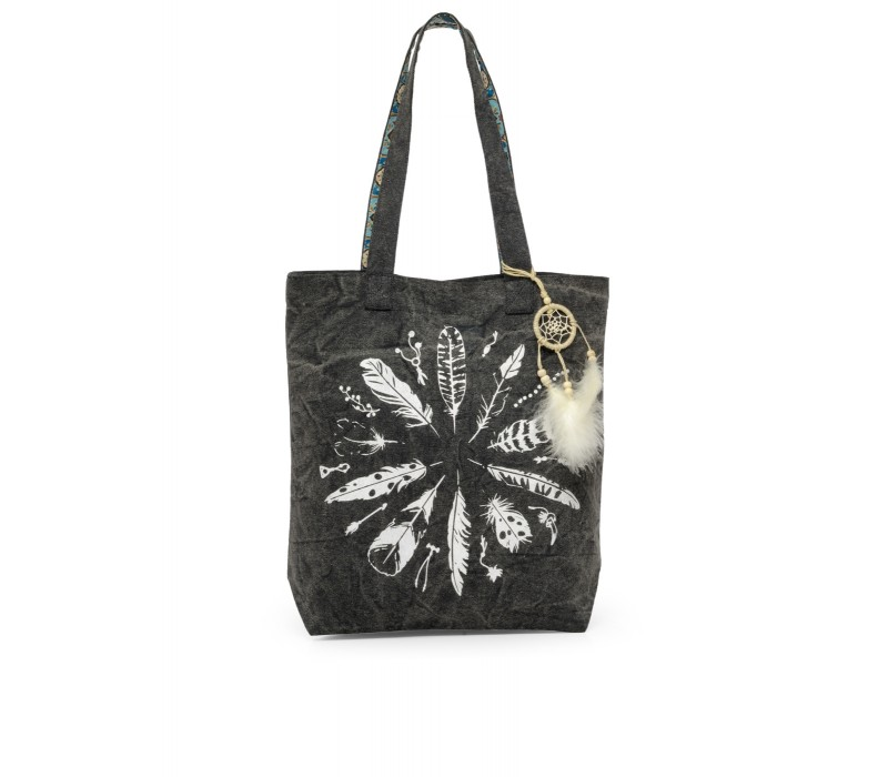 The House Of Tara Canvas Tote HTT 344 (Ash Grey)