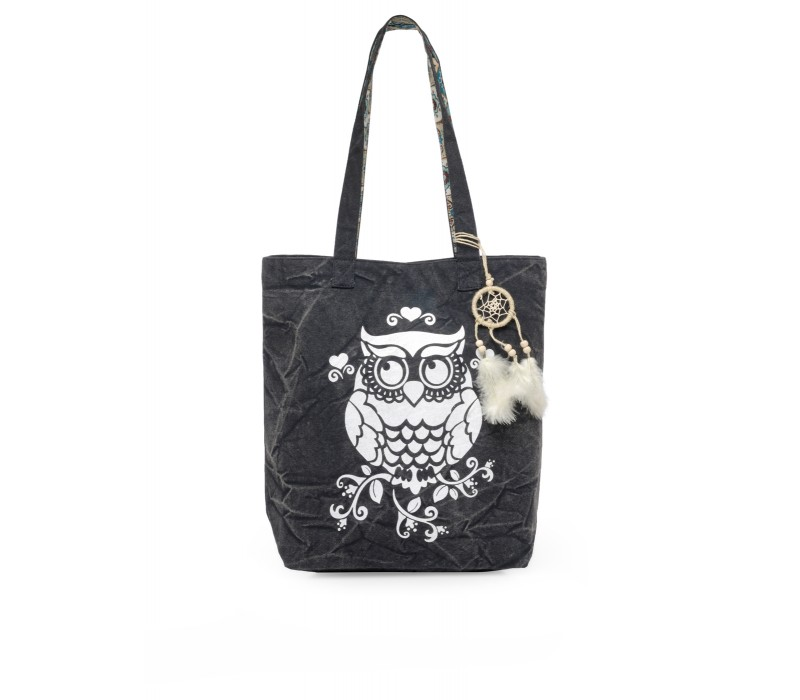 The House Of Tara Canvas Tote HTT 342 (Ash Grey)