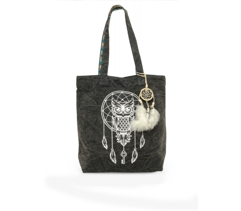 The House Of Tara Canvas Tote HTT 343 (Ash Grey)