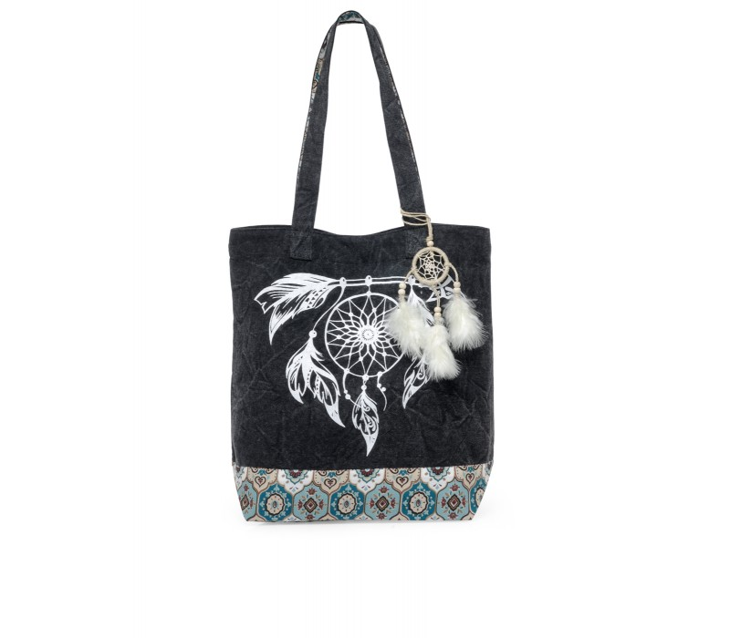 The House Of Tara Canvas Tote HTT 357 (Ash Grey)