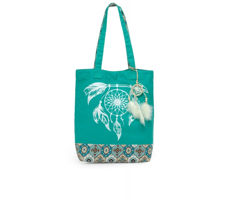 The House Of Tara Canvas Tote HTT 360 (Emrald Green)