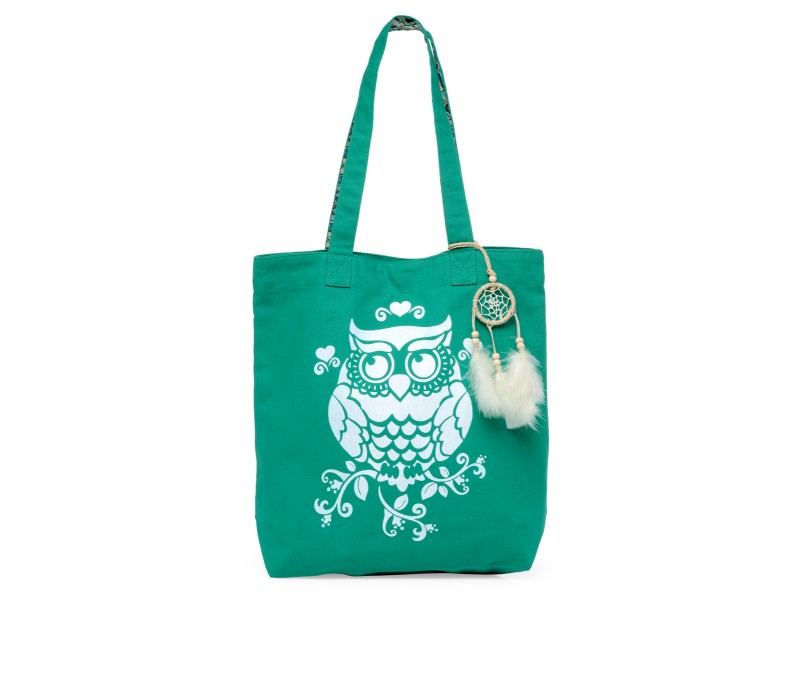 The House Of Tara Canvas Tote HTT 351 (Emrald Green)