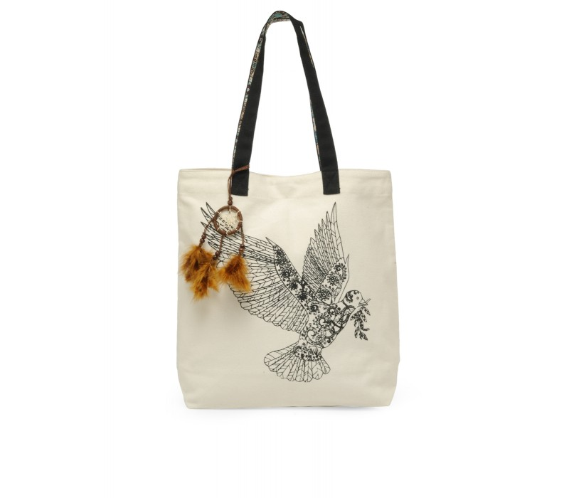 The House Of Tara Canvas Tote HTT 333 (Cloud Cream)