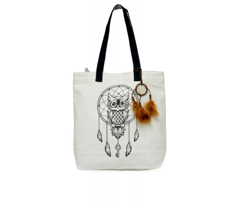 The House Of Tara Canvas Tote HTT 335 (Cloud Cream)