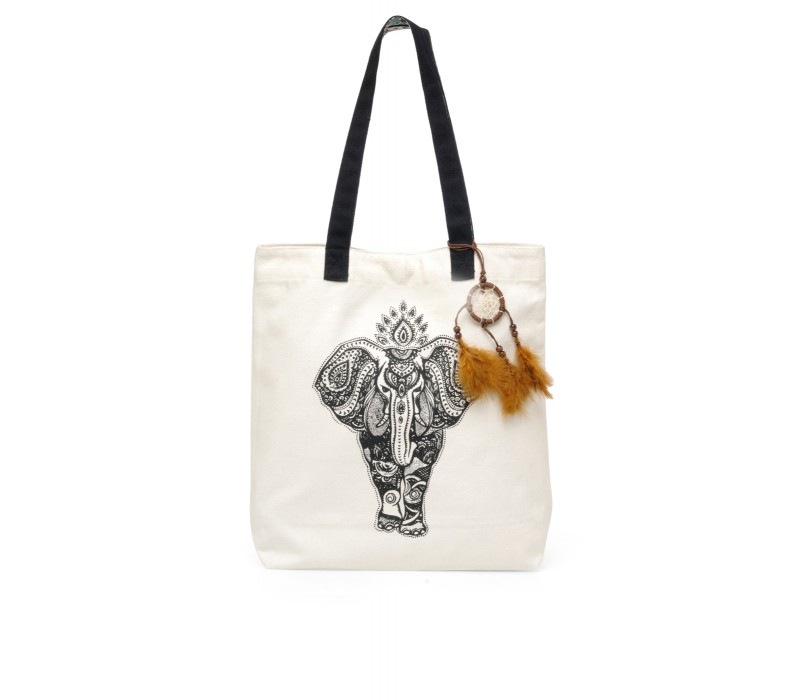 The House Of Tara Canvas Tote HTT 336 (Cloud Cream)