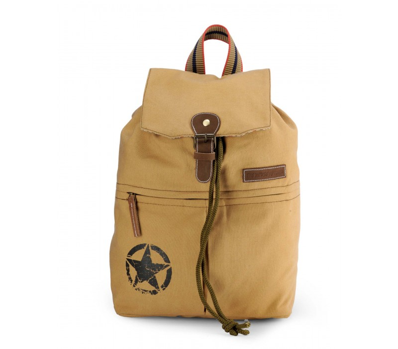 Canvas Backpack (Desert Sand).