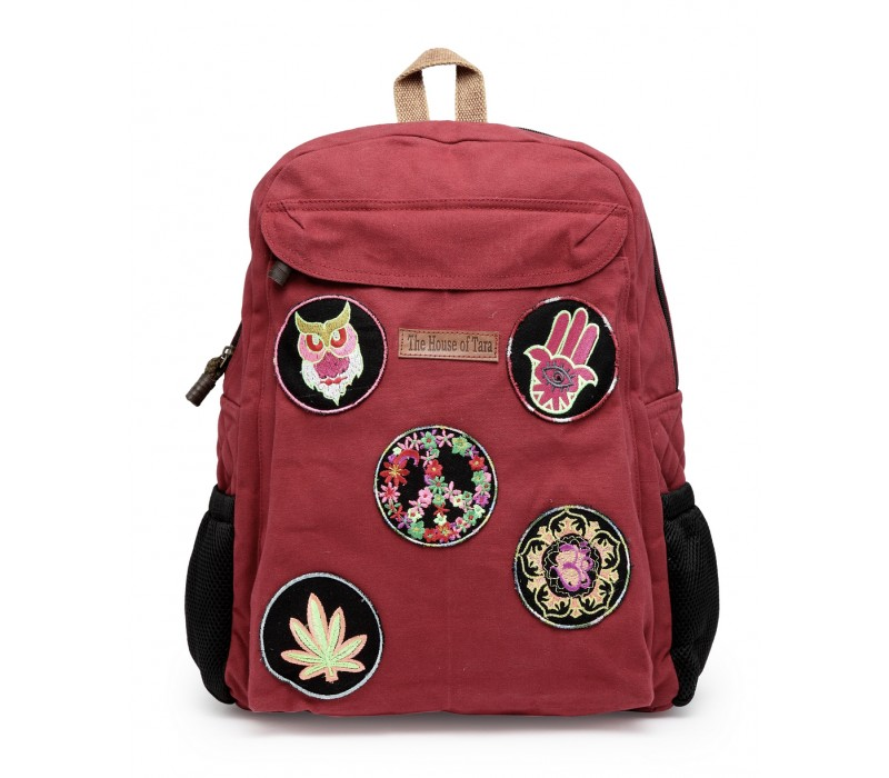 Laptop Backpack (HTBP 195) - Tibetan Red
