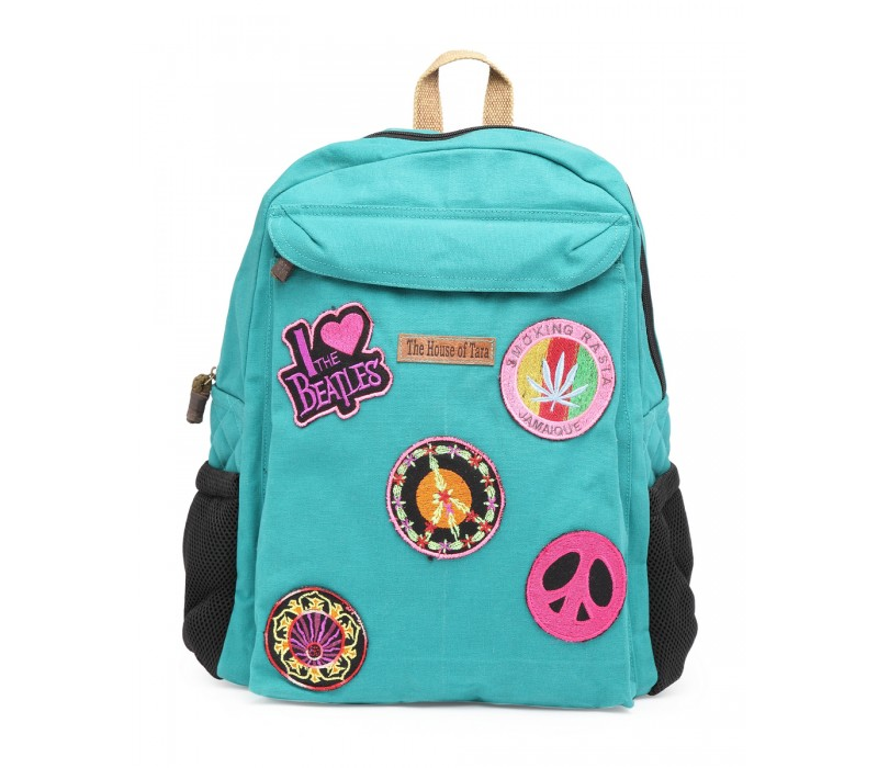 Laptop Backpack (HTBP 198) - Teal