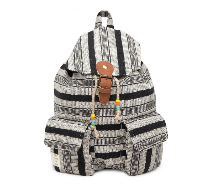 Handloom Fabric Backpack (HTBP 206)