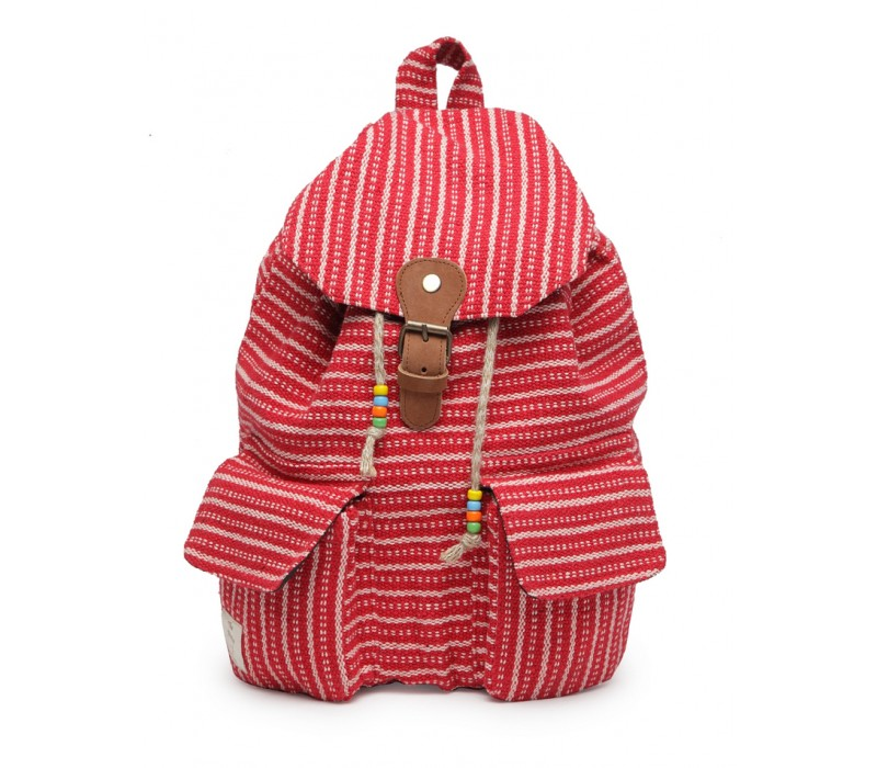 Handloom Fabric Backpack (HTBP 208)