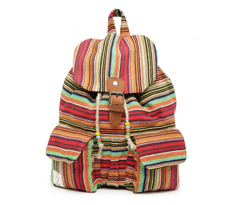 Handloom Fabric Backpack (HTBP 209)