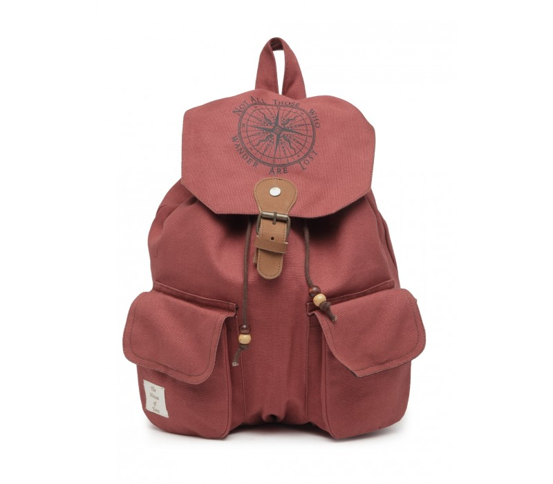 Cotton Canvas Backpack (HTBP 223)
