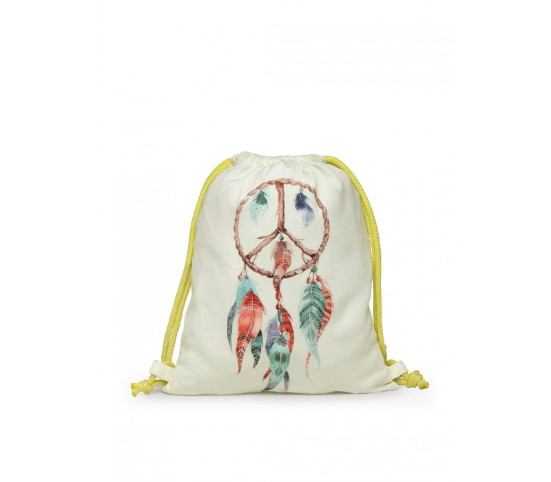 Womens' Printed Slim Backpack (HTBP 226)