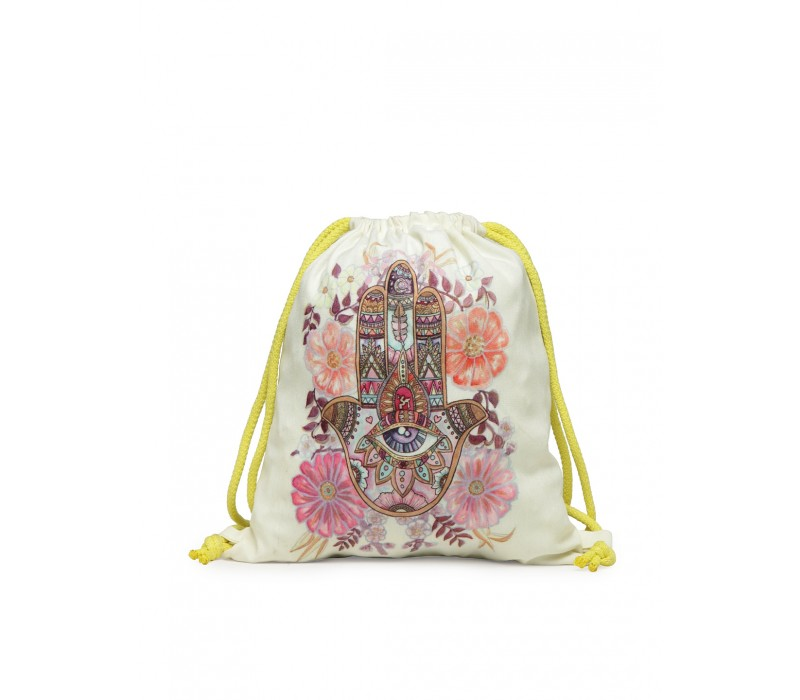 Womens' Printed Slim Backpack (HTBP 227)
