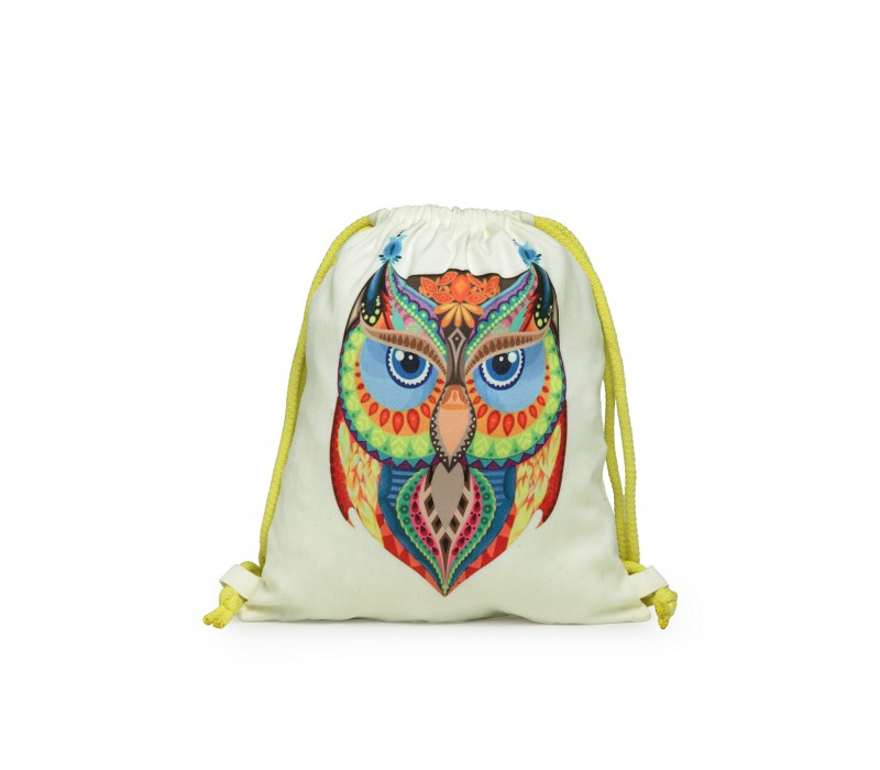Womens' Printed Slim Backpack (HTBP 228)