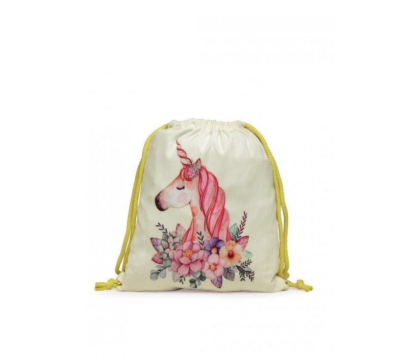 Womens' Printed Slim Backpack (HTBP 229)