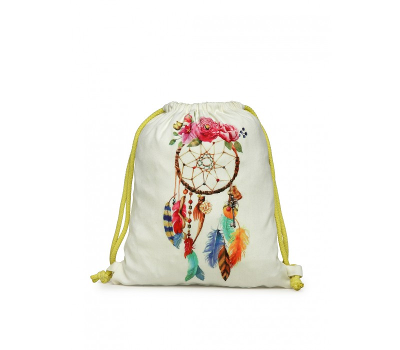 Womens' Printed Slim Backpack (HTBP 230)