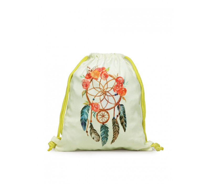 Womens' Printed Slim Backpack (HTBP 231)
