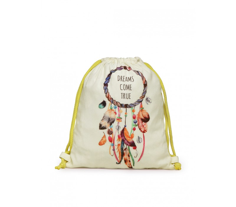 Womens' Printed Slim Backpack (HTBP 232)