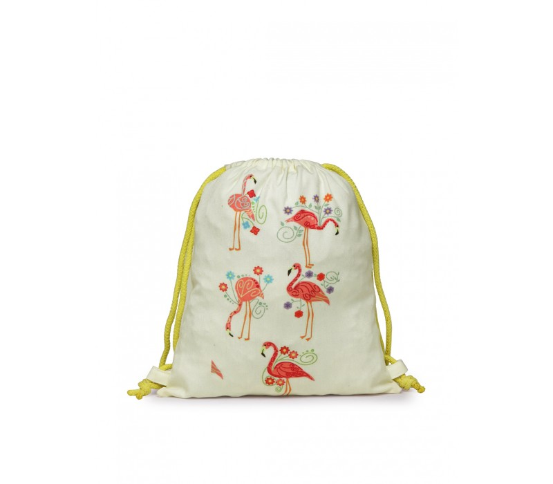 Womens' Printed Slim Backpack (HTBP 233)