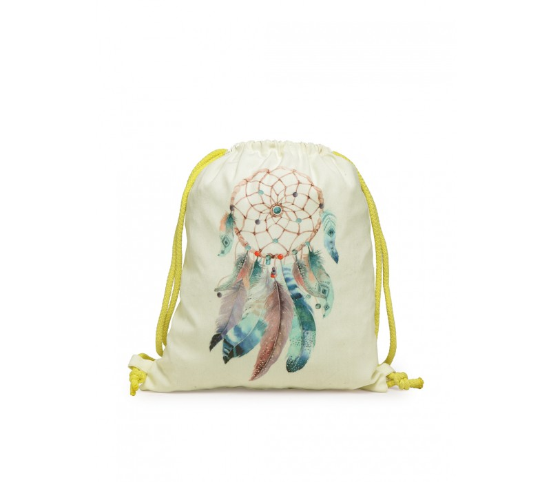 Womens' Printed Slim Backpack (HTBP 234)