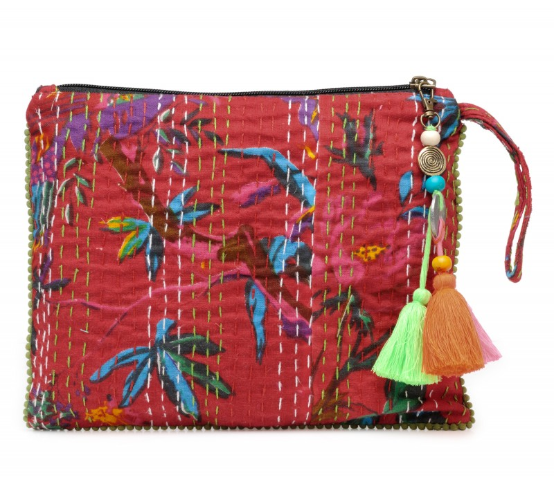 Kantha Work Clutch (HTCL 08)