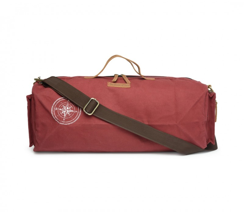 Canvas Duffle/Gym Bag (Tibetan Red) HTD 138