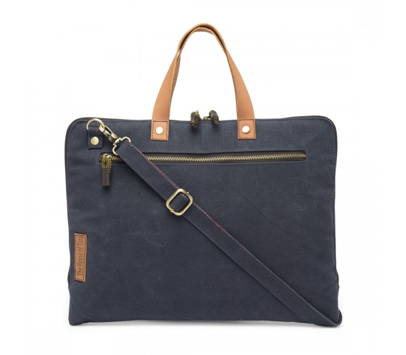 Slim Laptop Bag (Midnight Blue) HTLB 058